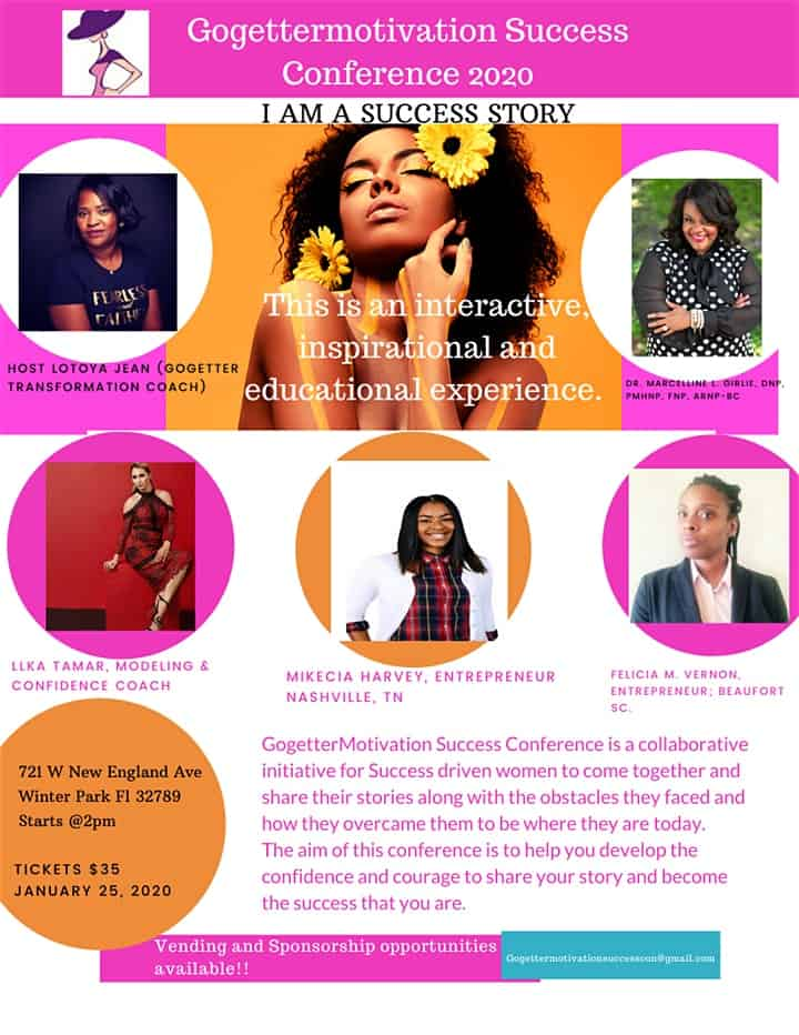 Gogettermotivation Success Conference Speakers 2020